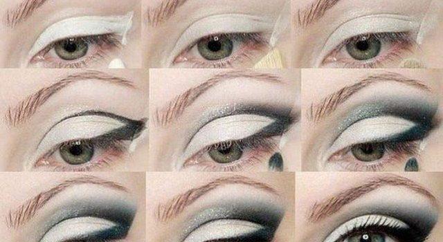 Pour l'hiver, adoptez le style de maquillage smoky eye blanc